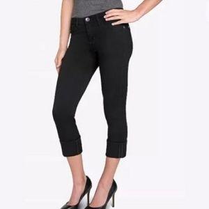 Rock & Republic Kendall Crop Flap Pocket Jeans 6